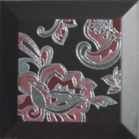 Silk Chic Negro 25x25 (set 2/pcs) decor